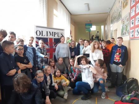 OLIMPIADA OLIMPUS W NASZEJ SZKOLE