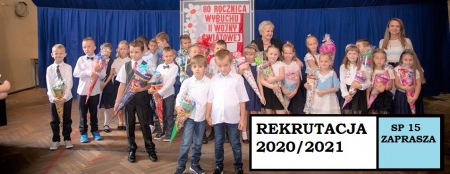 UWAGA REKRUTACJA 2020/2021