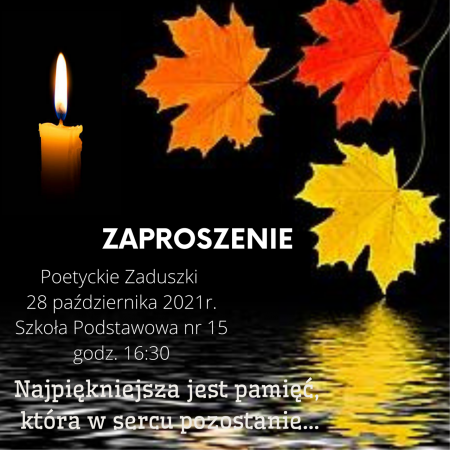 Poetyckie Zaduszki